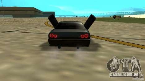 Elegy MIX V.1 para GTA San Andreas traseira esquerda vista