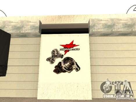 Garagem GRC em SF para GTA San Andreas sétima tela