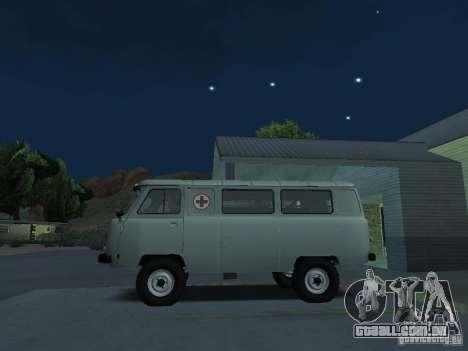 UAZ 451A para GTA San Andreas esquerda vista