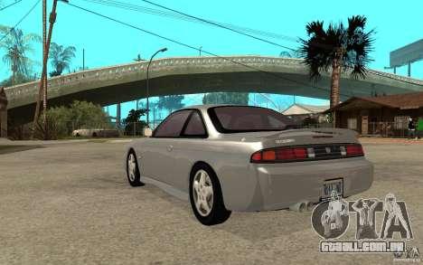Nissan 200SX - Stock para GTA San Andreas