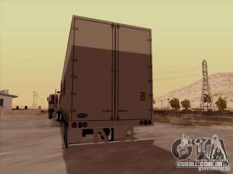 Hell Riders American para GTA San Andreas esquerda vista