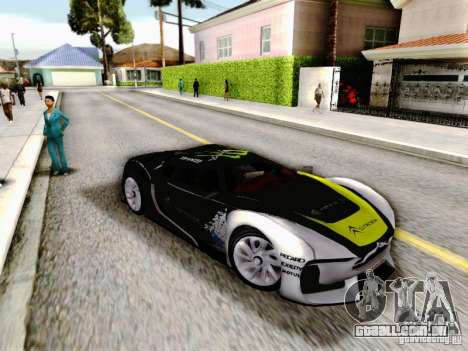 Citroen GT Gymkhana para GTA San Andreas vista direita