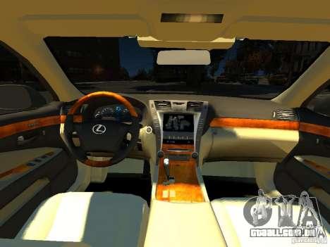 Lexus LS600 V2.0 para GTA 4 vista de volta