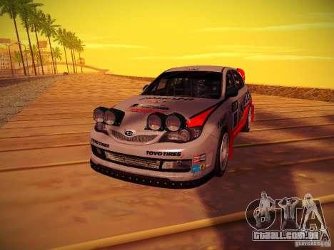 Subaru Impreza WRX STi N14 Rallycross para GTA San Andreas vista direita