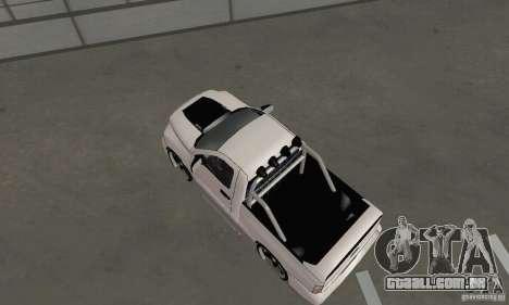Dodge Ram SRT-10 Tuning para GTA San Andreas traseira esquerda vista