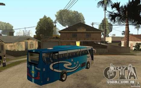 Hino New Travego V.Damri para GTA San Andreas vista direita