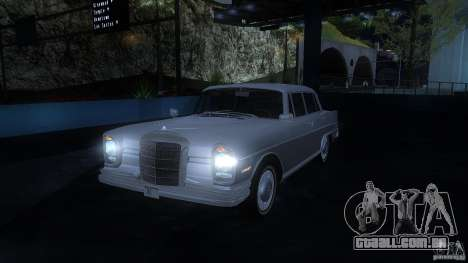 Mercedes-Benz 300SE US para GTA San Andreas