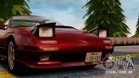 Mazda Savanna RX-7 para GTA 4 vista de volta