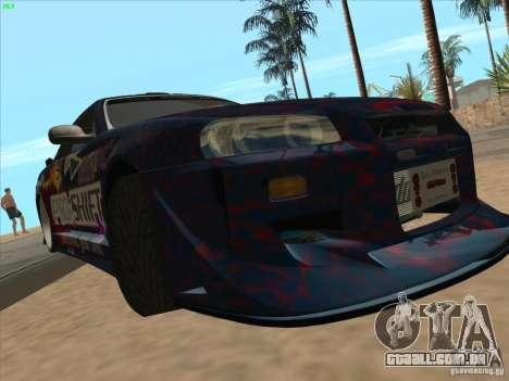 Nissan Skyline R34 VeilSide para vista lateral GTA San Andreas