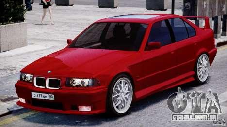 BMW 318i Light Tuning v1.1 para GTA 4 esquerda vista