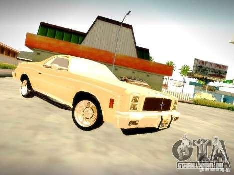 Chevrolet El Camino 1976 para GTA San Andreas