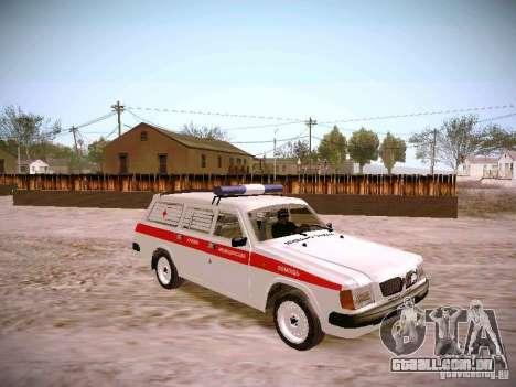 GÁS 310231 urgente para GTA San Andreas vista direita