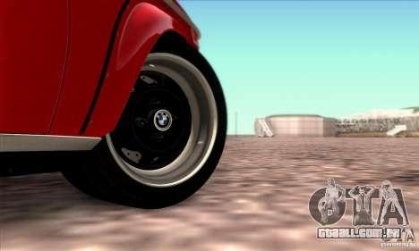 BMW 2002 Turbo para GTA San Andreas vista inferior