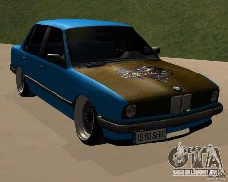 BMW E30 325e Duscchen para GTA San Andreas