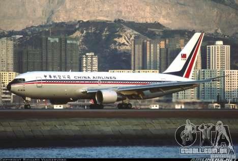 Boeing 767 de telas de carregamento para GTA San Andreas quinto tela