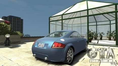 Audi TT 1.8 (8N) para GTA 4 traseira esquerda vista