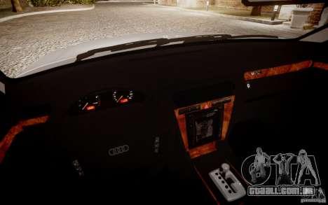 Audi A8 2000 para GTA 4 vista direita
