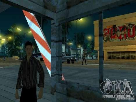 Arraste a rota v 2.0 Final para GTA San Andreas por diante tela