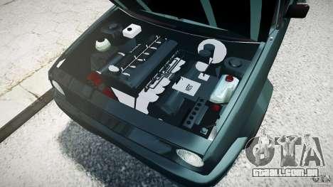 Volkswagen Golf 2 Low is a Life Style para GTA 4 esquerda vista
