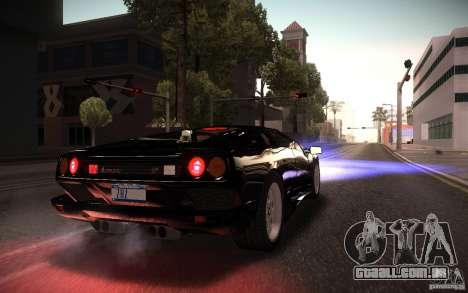 ENBSeries by Gasilovo v3 para GTA San Andreas por diante tela