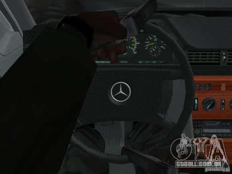 Mercedes-Benz 250D para vista lateral GTA San Andreas