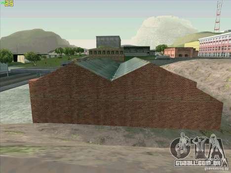Nova garagem em Doherty para GTA San Andreas sétima tela