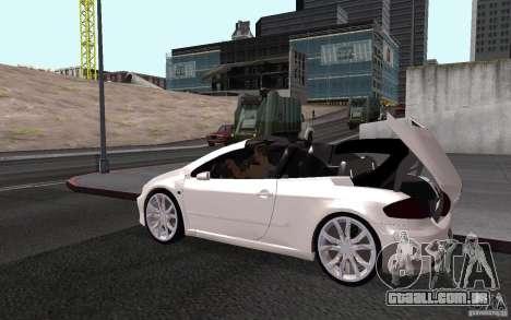 Peugeot 307CC BMS para vista lateral GTA San Andreas