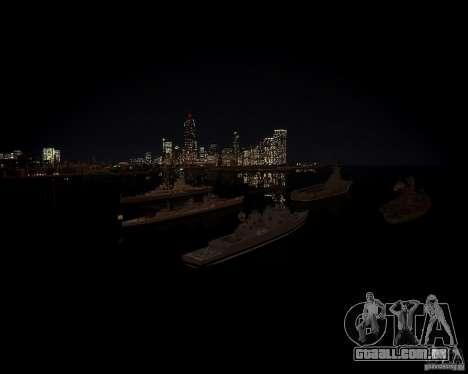 Marinha para GTA 4 quinto tela