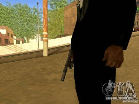 USP45 Tactical para GTA San Andreas terceira tela