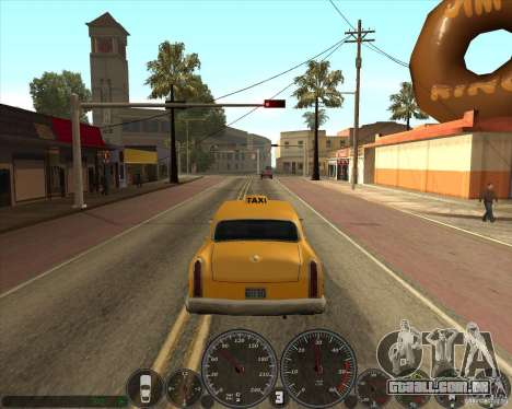 Memphis velocímetro v 2.0 para GTA San Andreas terceira tela