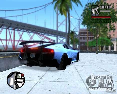 Enb series by LeRxaR para GTA San Andreas por diante tela