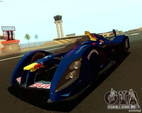 X2010 Red Bull para GTA San Andreas