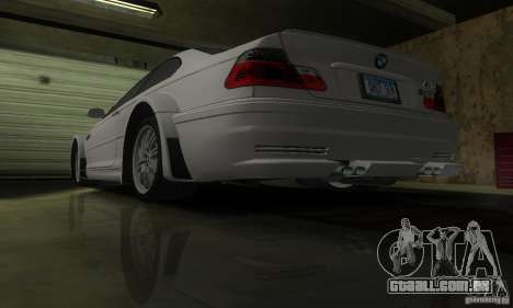 BMW M3 Tuneable para GTA San Andreas interior