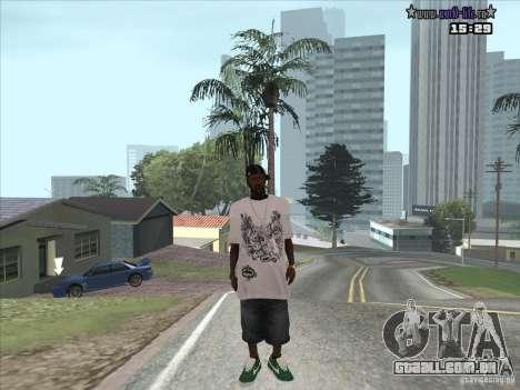 Pele nova Suite para GTA San Andreas