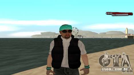 Skin Pack The Rifa Gang HD para GTA San Andreas sexta tela
