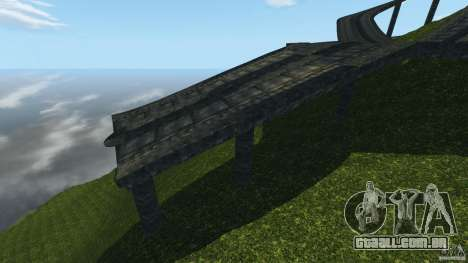 Crash Test Mountain para GTA 4 quinto tela