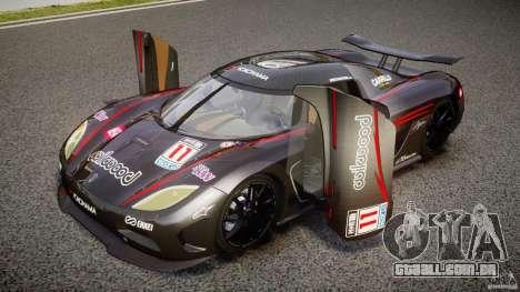 Koenigsegg Agera v1.0 [EPM] para GTA 4