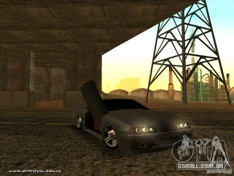 New Elegy para GTA San Andreas vista interior