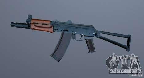 AK-74y para GTA Vice City segunda tela