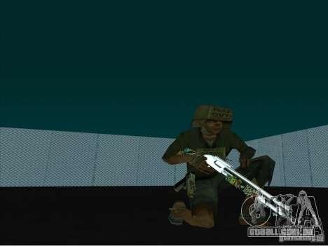 New Weapons Pack para GTA San Andreas segunda tela