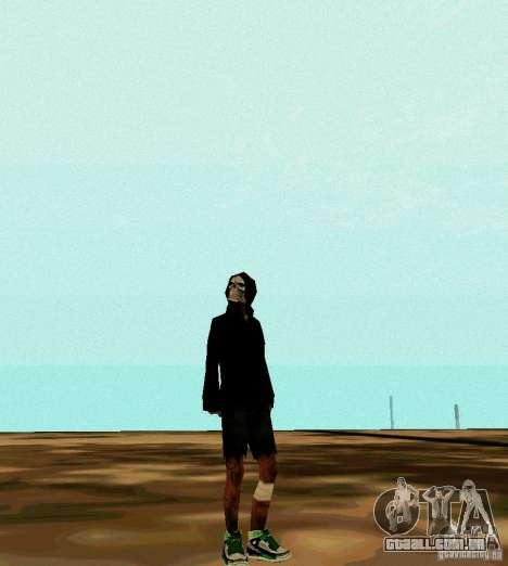 New Skin para GTA San Andreas terceira tela