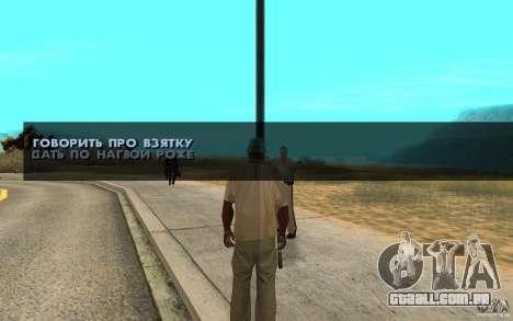 O suborno para GTA San Andreas