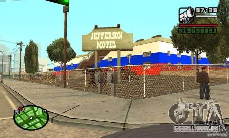 Hotel russo para GTA San Andreas