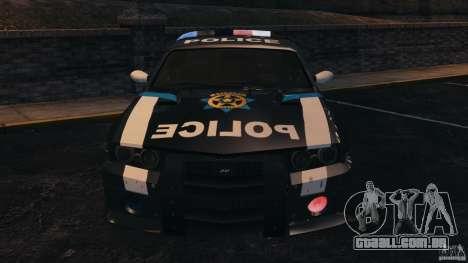 NFSOL State Police Car [ELS] para GTA 4 vista interior