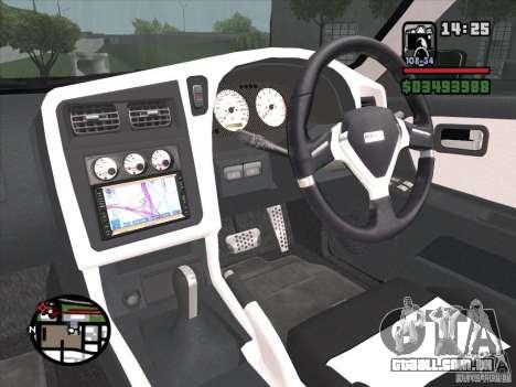 Nissan Stagea para GTA San Andreas vista traseira