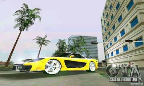 Mazda RX7 VeilSide para GTA Vice City deixou vista