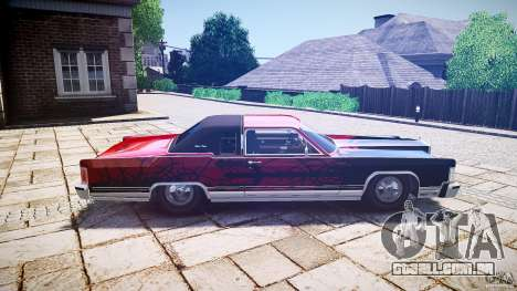 Lincoln Continental Town Coupe v1.0 1979 [EPM] para GTA 4 vista lateral