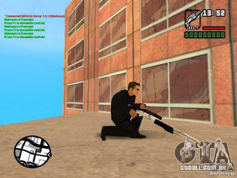 Gun Pack by MrWexler666 para GTA San Andreas nono tela