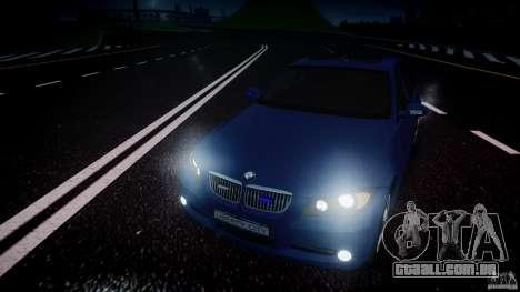 BMW 3-Series Unmarked [ELS] para GTA 4 vista superior