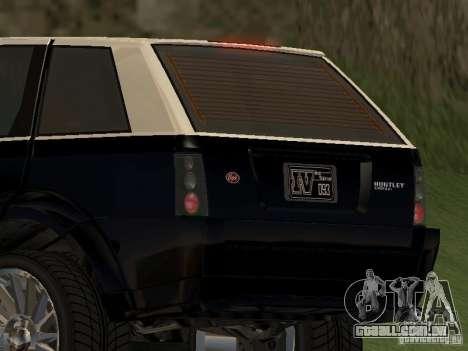 Huntley no GTA IV para GTA San Andreas traseira esquerda vista